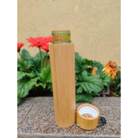 Handcrafted Bamboo Water Bottle