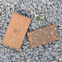 Handcrafted Cork Leather Fold Wallet