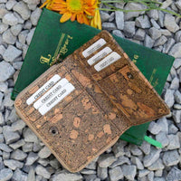 Handcrafted Cork Leather Mini Purse