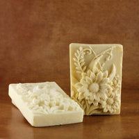 Handmade Designer Flower Soap Enriched With Neroli Essential Oil (Pack of 2)