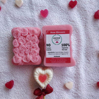 Handmade Rose Blossom Soap (Pack of 2)