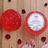 Handmade Rose Geranium Soap (Pack of 2)