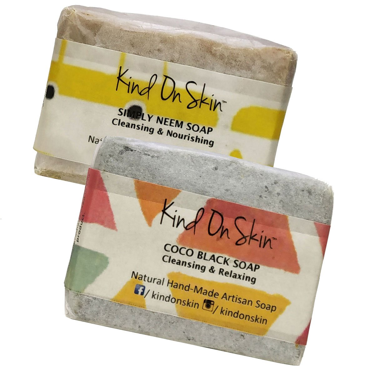 Oily Skin Combo - Neem & Charcoal Soap (Pack of 2)