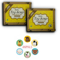 Handmade Toy Soap for Kids - Pack of 4 - (100 gm each)