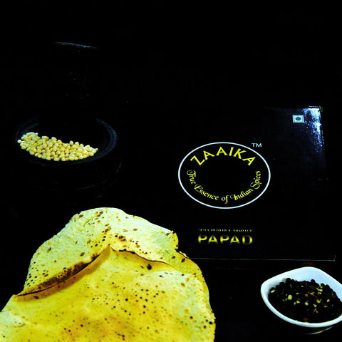 Handmade kalimirch Papad Made with Urud Daal - 500g ( Pack of 2 )