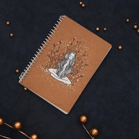 Handpainted Notebook (curly)