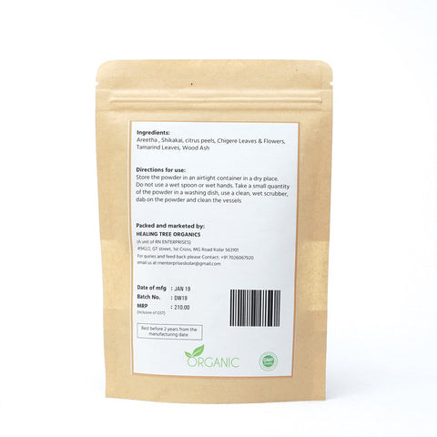 Dish wash powder (100% Natural and Chemical Free)