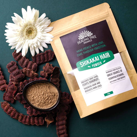 Healing Tree Organics shikakai Hair Powder