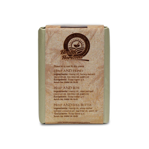Honey, Rose & Shea Butter Soap  (Pack of 3)