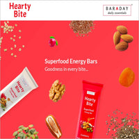 Hearty Bite Superfood Energy Bars (Pack of 10 )