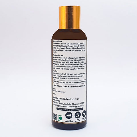 Herbal Hair Treatment Oil