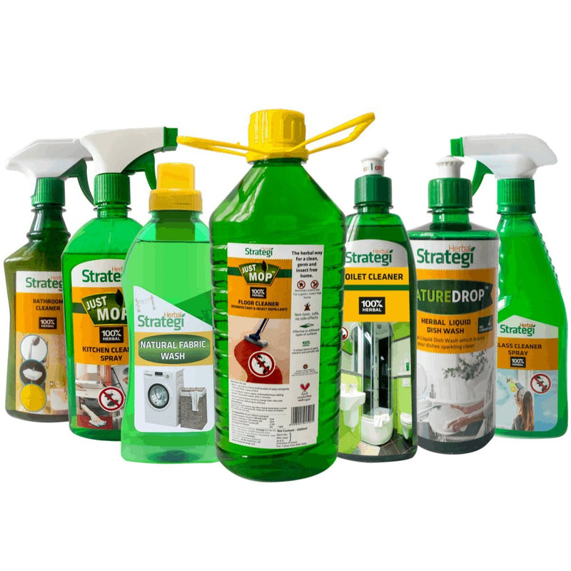 Herbal Home Cleaning Products (Pack of 7)