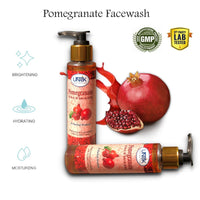 Herbal Pomegranate Skin Softening Facewash