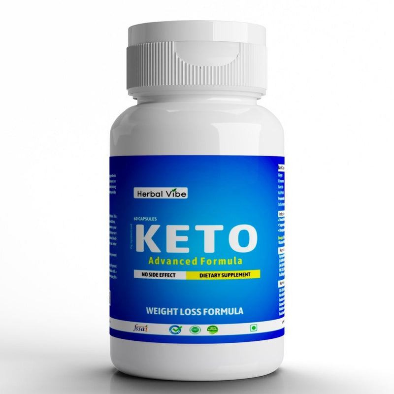 Keto Capsules (Advanced Weight Loss Fat Burner Supplement)