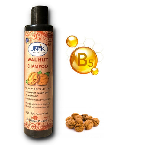 Herbal Walnut Shampoo For Dry Brittle Hair