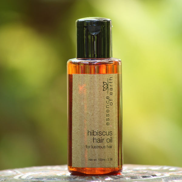Hibiscus Hair Oil for Lustrous Hair at Qtrove