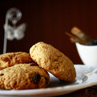 Oatmeal Wheat Raisin Cookies