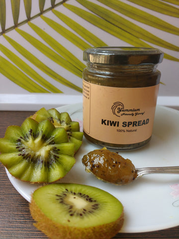Homemade 100% Natural Kiwi Jam