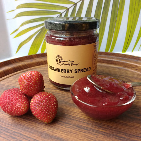 Strawberry Jam-Homemade & 100% Natural