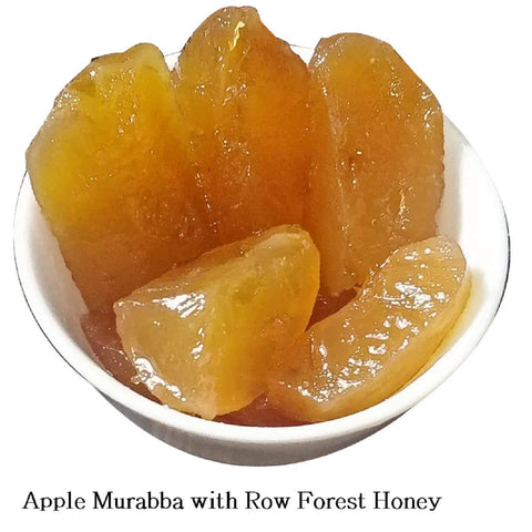 Apple Murabba With Row Forest Honey (Homemade)