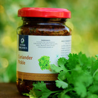 Homemade Coriander Pickle (Pack of 2)