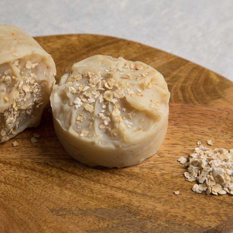 Honey Crunch (Oats, Milk, Honey & Vetiver) soap