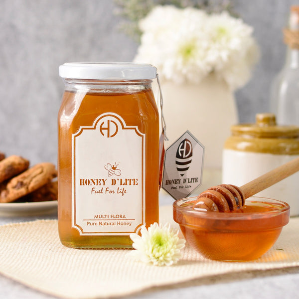 Pure And Natural Multi-Flora Honey at Qtrove