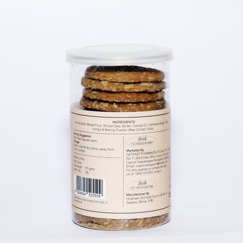 Honey Oatmeal Cookies (Pack of 2)