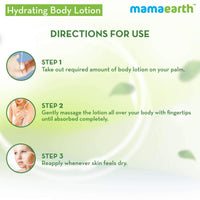 Hydrating Natural Body Lotion For Normal Skin
