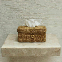 Handcrafted Kauna Reed Tissue Box