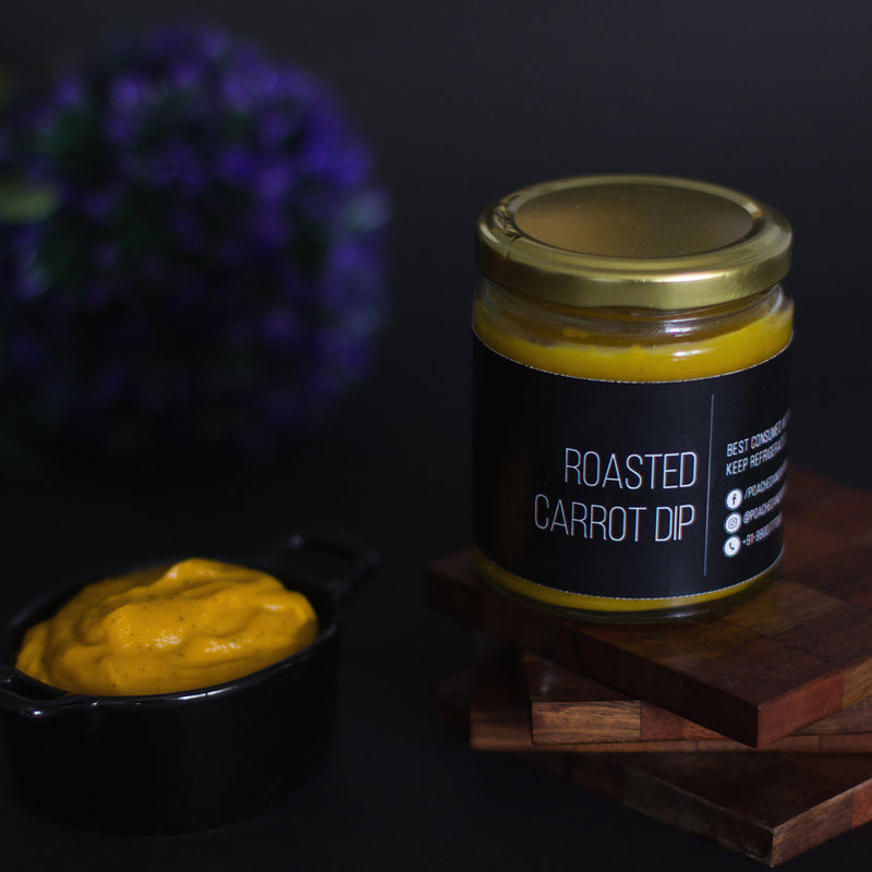 All Natural Roasted Carrot Dip