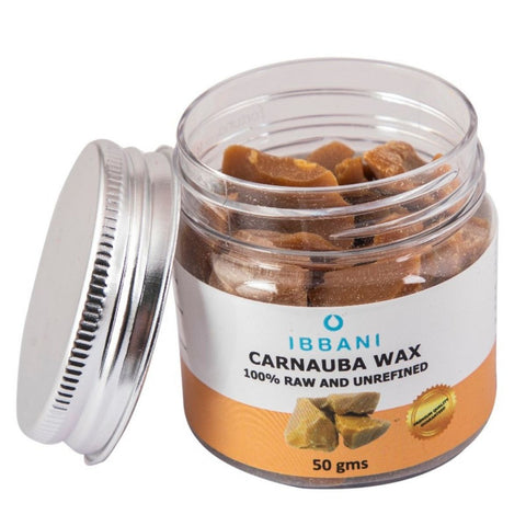 Ibbani naturals Carnauba Wax (100% Raw And Unrefined)(Pack of 2) FSSAI Approved