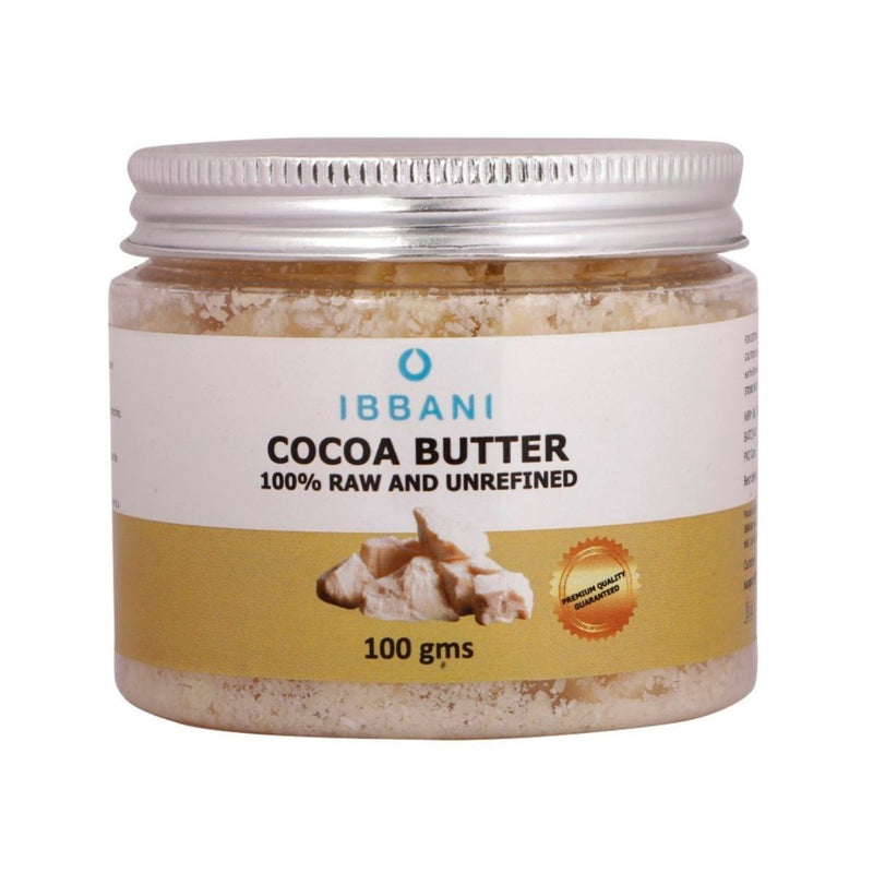 Ibbani Naturals Cocoa Butter (100% Raw And Unrefined)(Pack of 2) FSSAI Approved