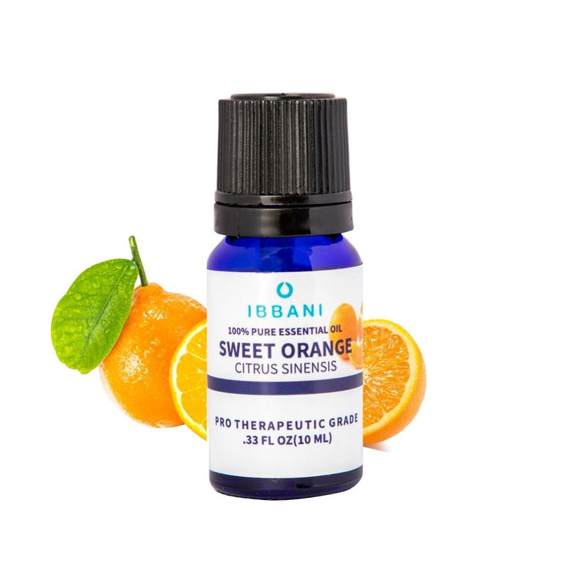 Sweet Orange Essential Oil (Pack of 2)