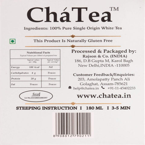Imperial Himalayan White Tea Bags