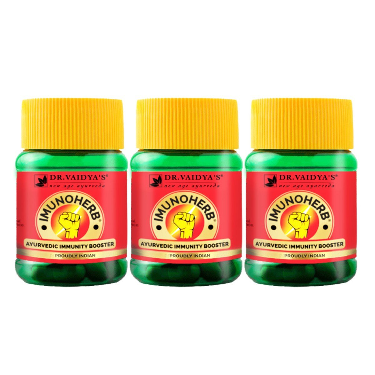 Imunoherb (Immunity Booster Capsules) (Pack of 3)