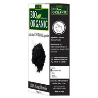 Bio Organic Charcoal Face Pack  & Multani  Mitti Powder Used For Face Combo