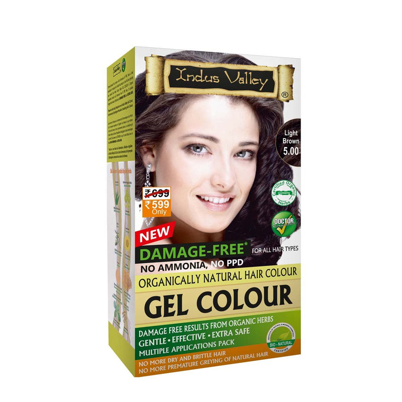 Natural Gel Light (Brown 5.0 Hair Color)