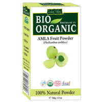 Bio Organic Amla & Bhringraj Powder Used For Hair & Face Combo Pack
