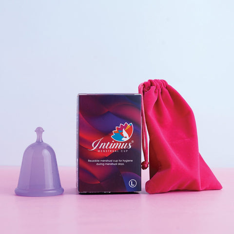 Intimus Menstrual Cup (Large -Above 25 Years Age)