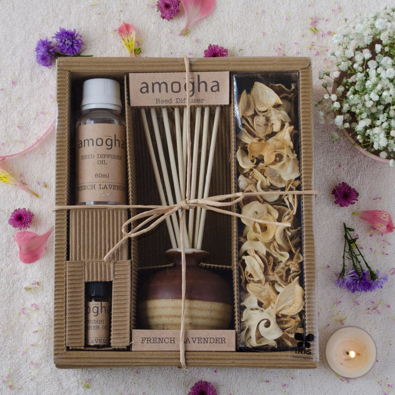 French Lavender Amogha Reed Diffuser