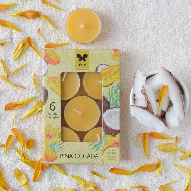 Pinacolada Scented Tea Lights Candle