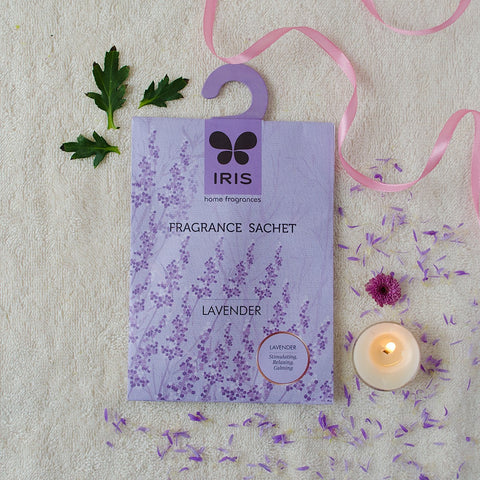 Lavender Fragrance Sachet (Pack of 3)