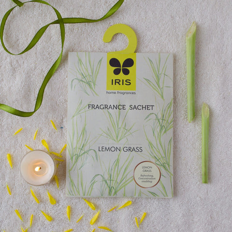 Lemon Grass Fragrance Sachet (Pack of 3)