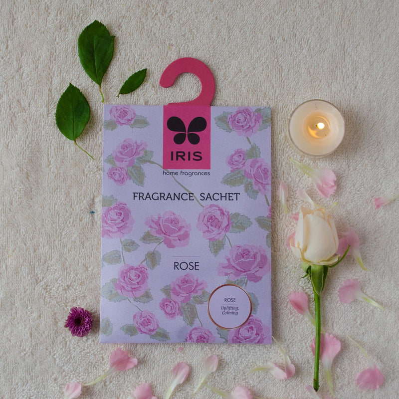 Rose Fragrance Sachet (Pack of 3)
