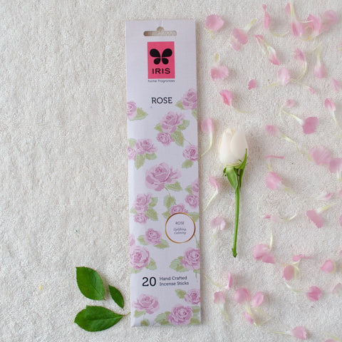 Rose Incense Sticks (Pack of 3)