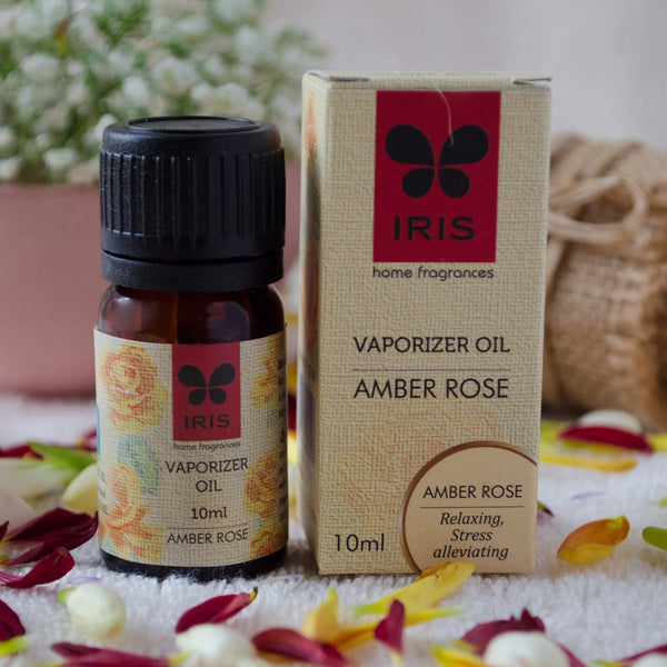 Amber Rose Vaporizer Oil (2 x 10 ml) (Pack of 2) at Qtrove