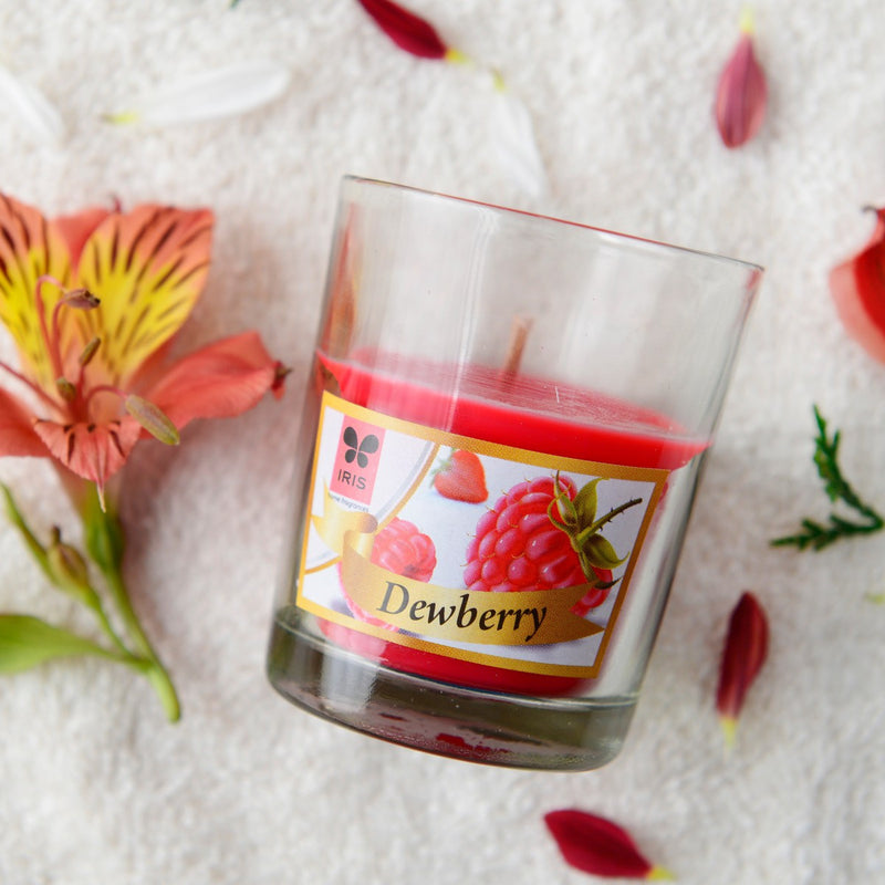 Dewberry Candle (Shot Glass) (Pack of 2)
