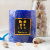 Sea Shore Pillar Candle