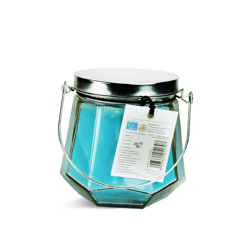 Celeste Aromatic Candle With Mettalic Lid